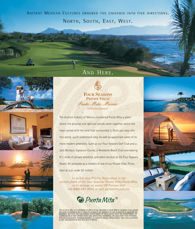 four seasons punta mita private villas