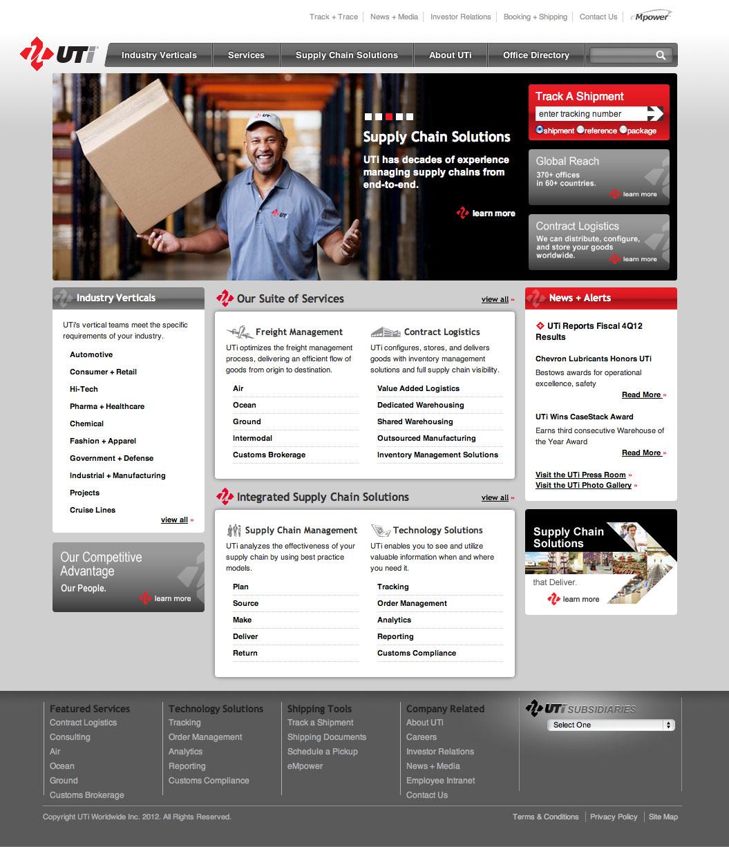 UTi Home Page