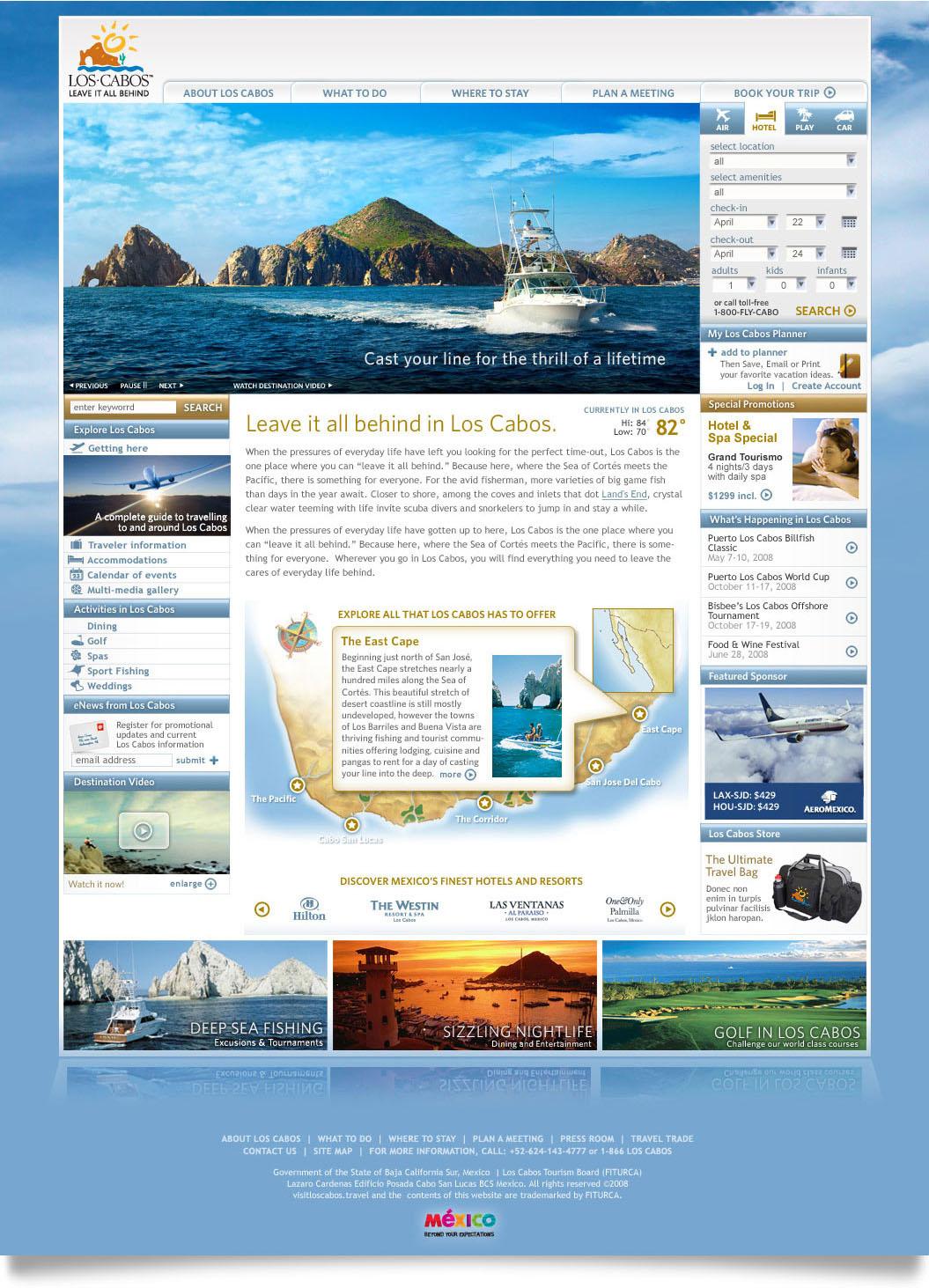 Los Cabos Home Page