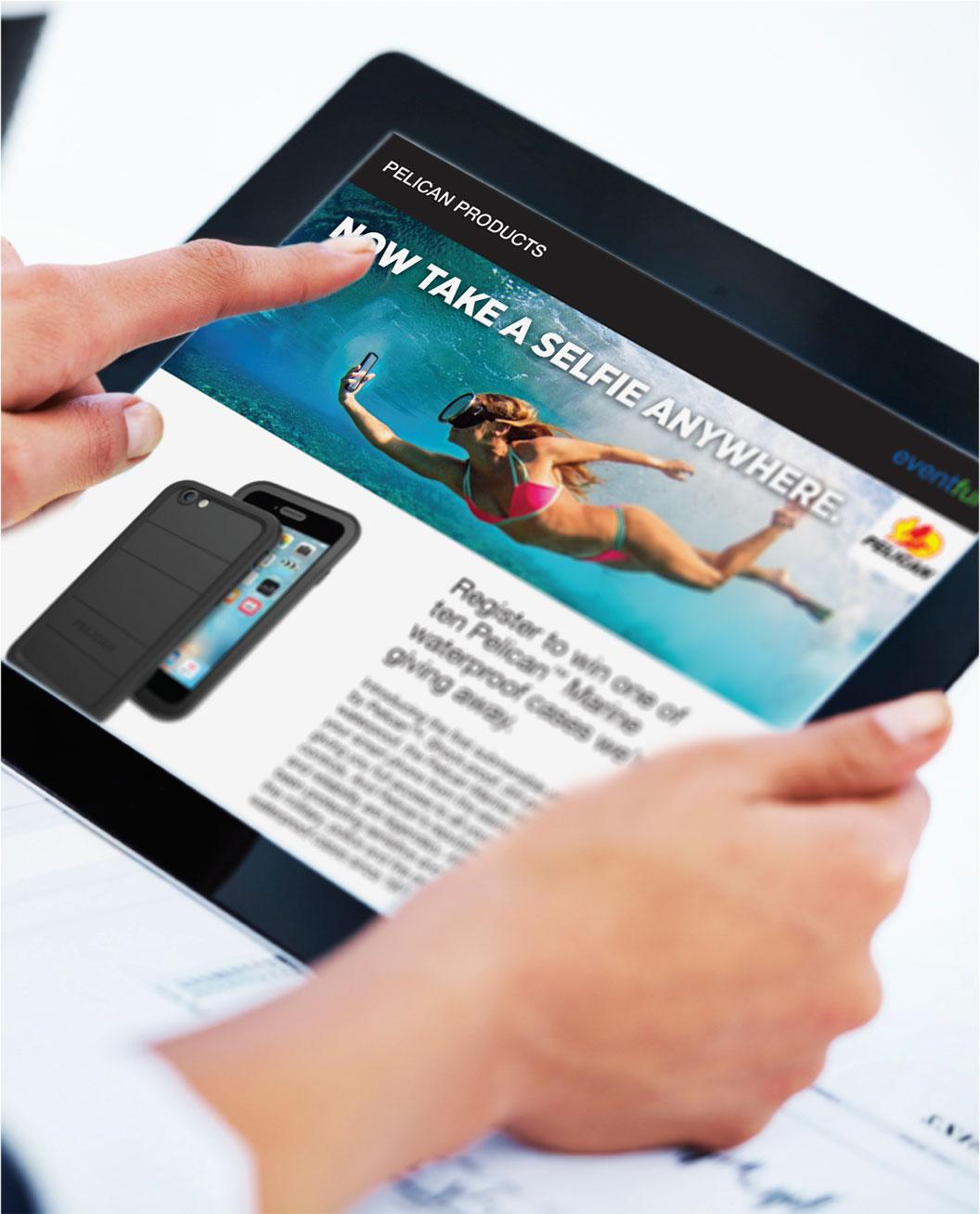 Pelican Direct Mail iPad teaser