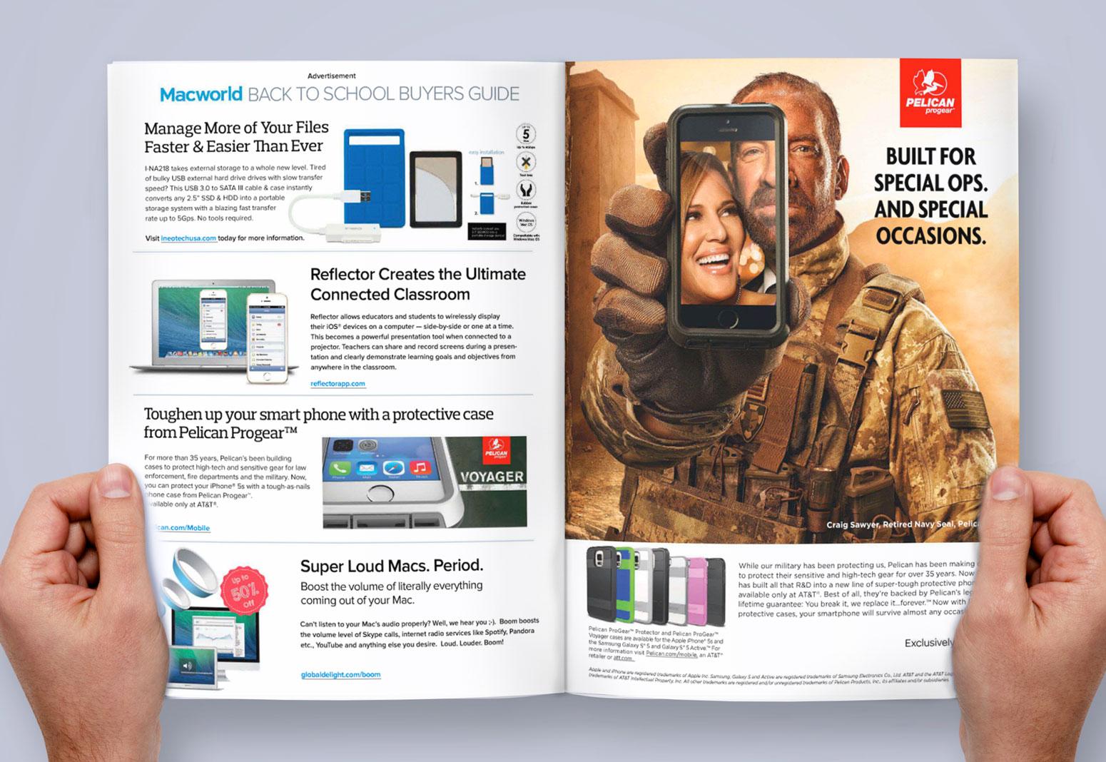Pelican Print Advertising Added Value Media teaser